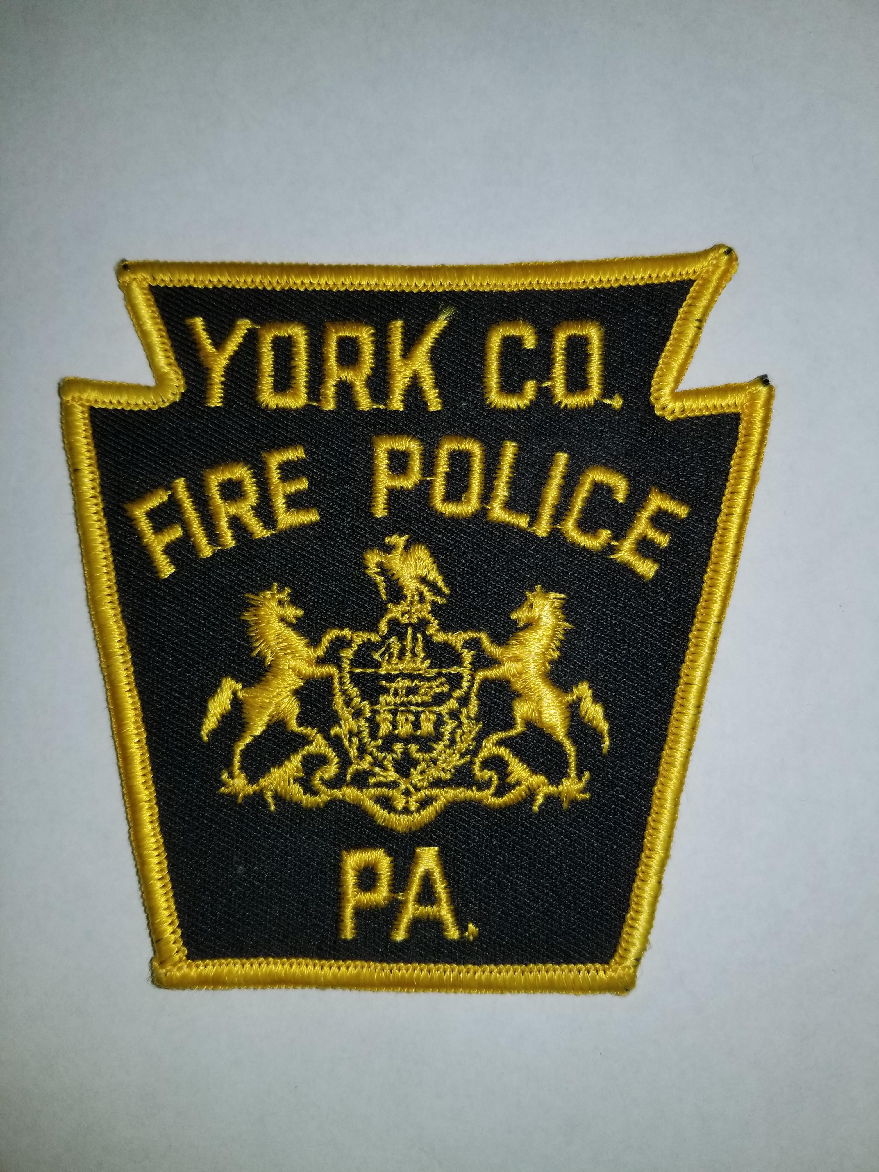 York County PA Fire Police