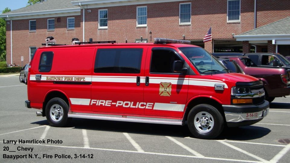 Bayport Fire Depeartment NY Fire Police