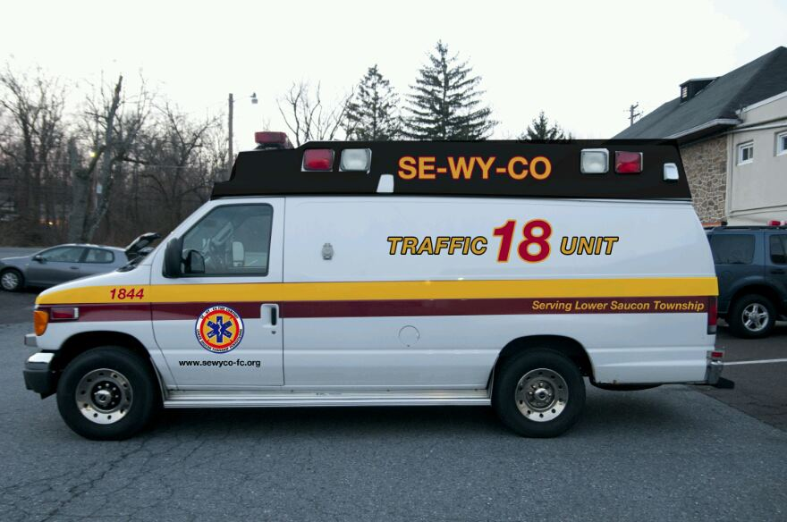 SE-WY-CO Lower Saucon Township Traffic 1844 2