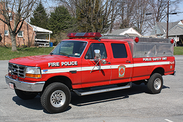 Lancaster Township Volunteer Fire Department PA Squad 66-2