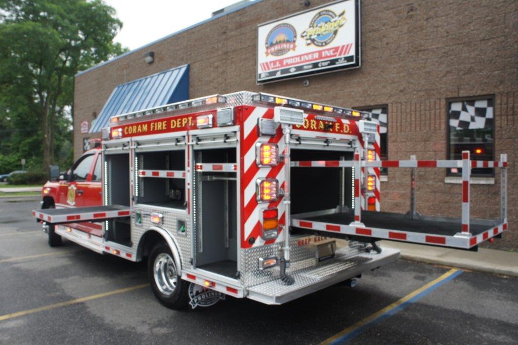 Coram Fire Police NY  5-6-9   11