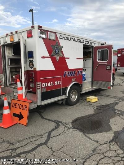 CHAUTAUQUA COUNTY VOLUNTEER FIRE POLICE ASSN. INC. Mayville NY TC-1 2