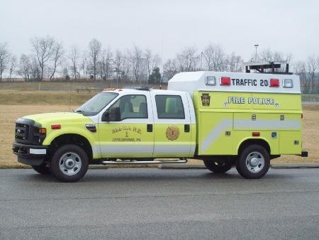 Alpha Fire Co. 1 Littlestown Adams County PA Fire Police Traffic 20