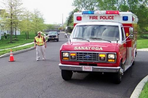 Sanatoga Fire Co. PA Traffic 58 OLD 2