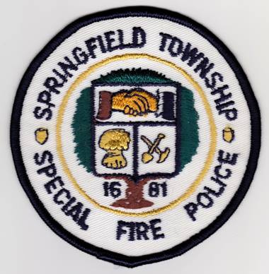 Springfield Township PA fire police 2