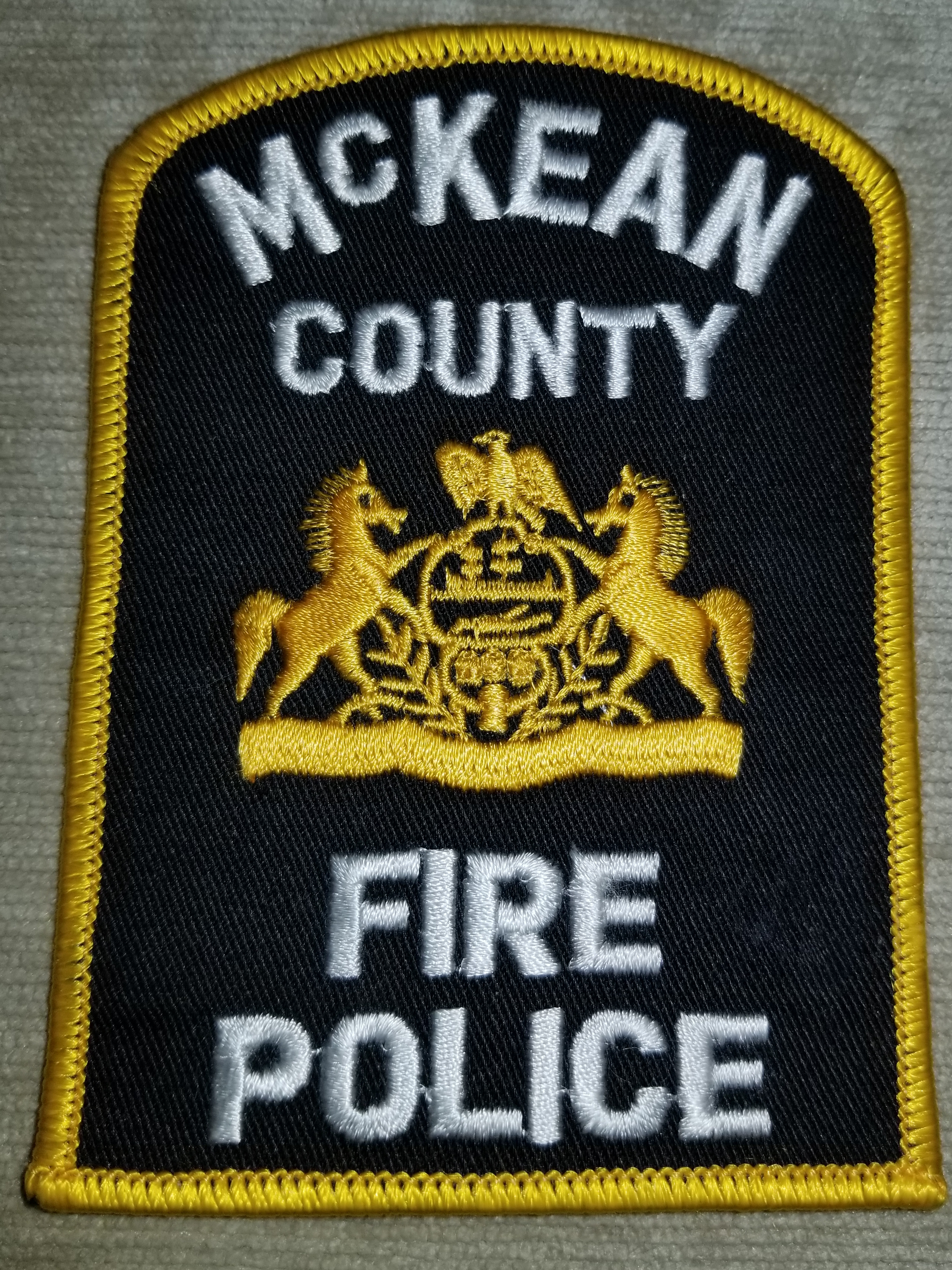 McKean County Fire Police PA