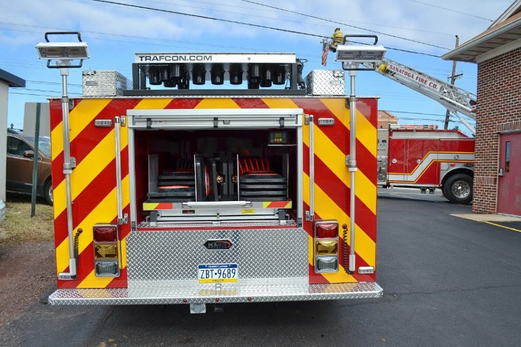 Sanatoga Fire Company - Montgomery County PA - Traffic 58 3