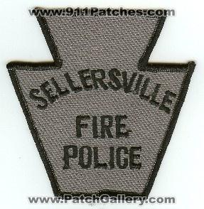 Sellersville PA FIRE POLICE