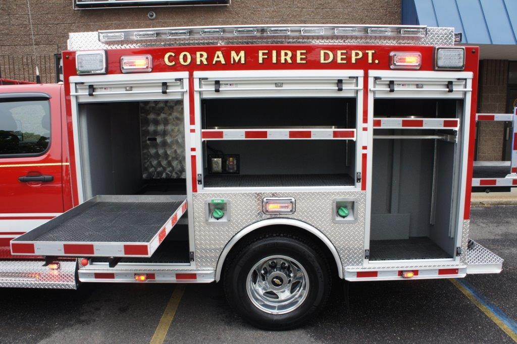 Coram Fire Police NY  5-6-9   7