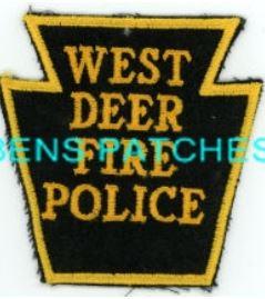 West Deer Fire Police PA