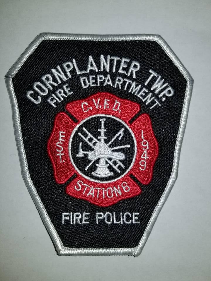 Cornplanter Township Volunteer Fire Department Venango County PA Station 6 Fire Police