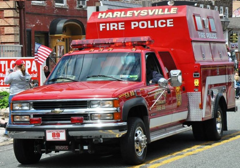 Harleysville Community Fire Company PA Traffic 89
