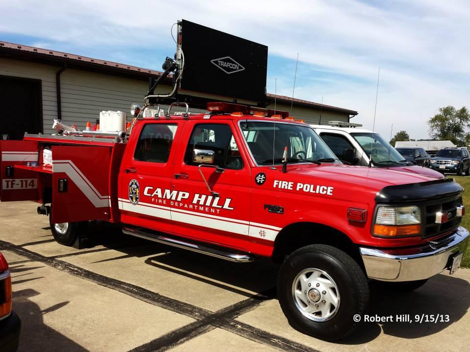 Camp Hill Fire Department Traffic 114