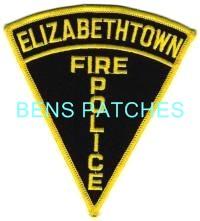 ELIZABETHTOWN PA FIRE POLICE