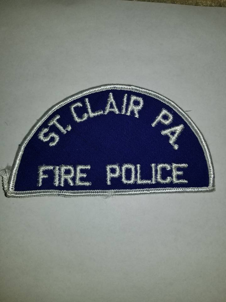 Saint Clair PA Fire Police 1
