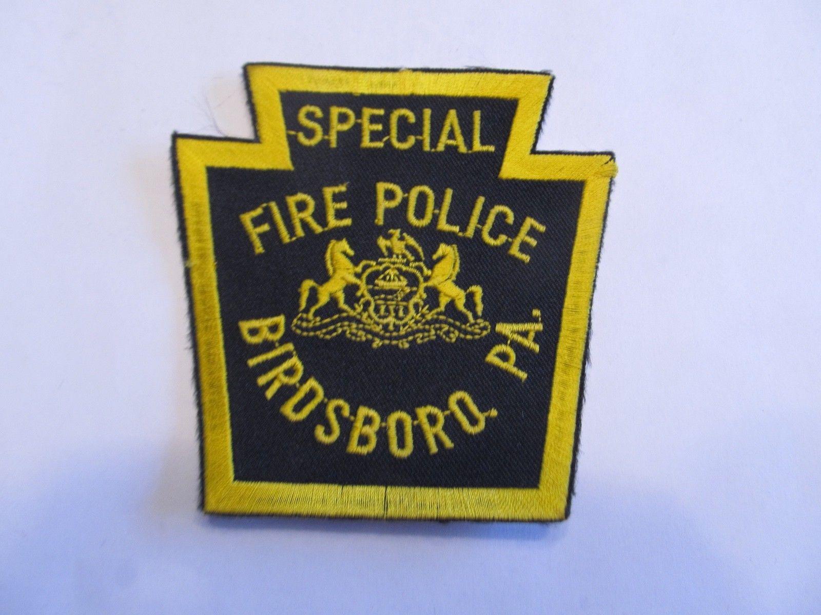 Birdsboro Special Fire Police PA