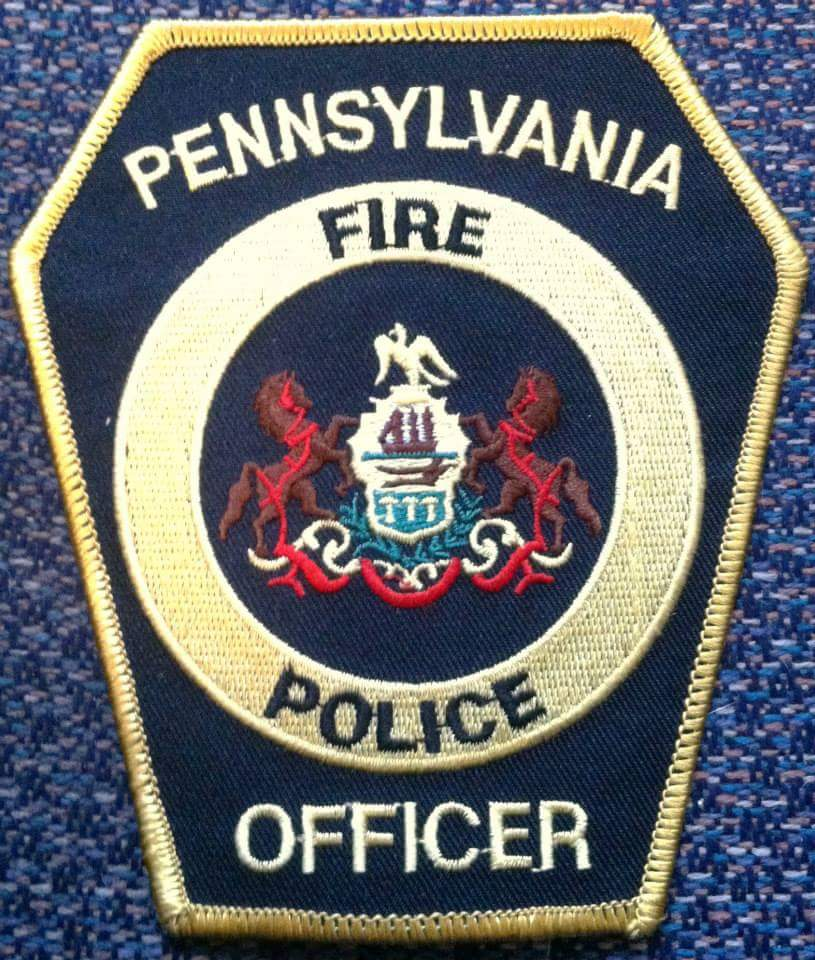 Pennsylvania Fire Police Officer PA