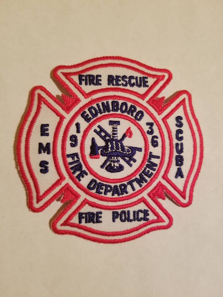 Edinboro Volunteer Fire Department Erie County PA Station 38 Fire Police