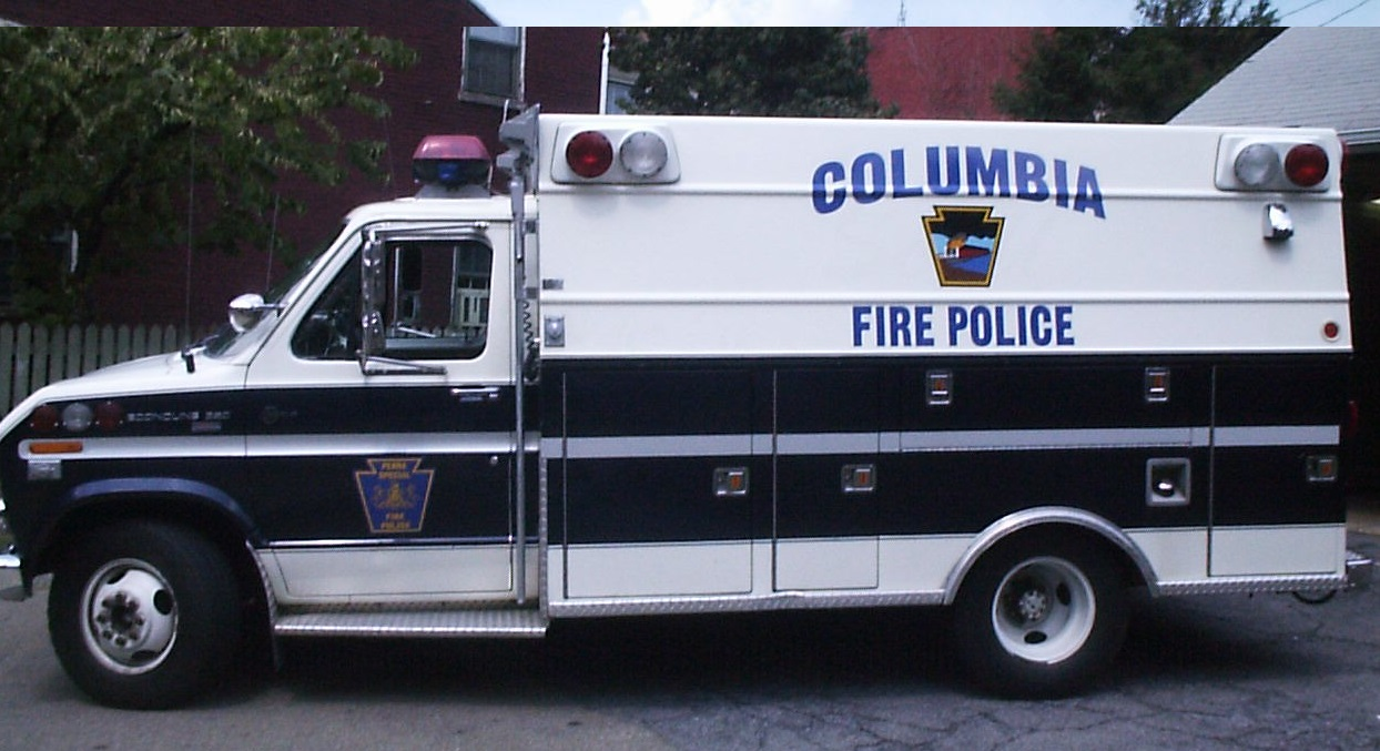 Columbia Fire Police OLD 2