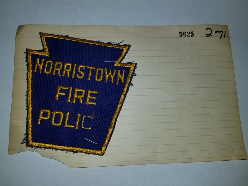 Norristown PA Fire Police