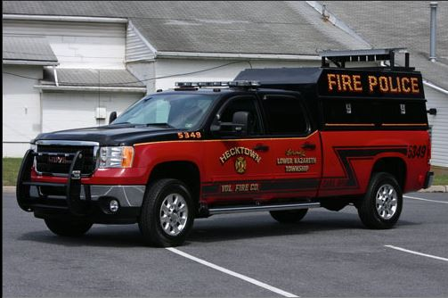 Hecktown Volunteer Fire Company - Lower Nazareth Township PA Traffic 5349