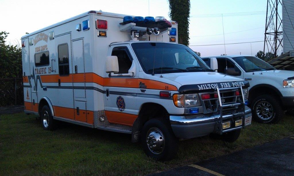 Milton Fire Department PA Traffic 15