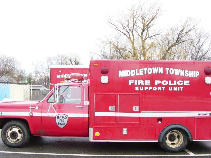 Middletown Fire Police 432 old