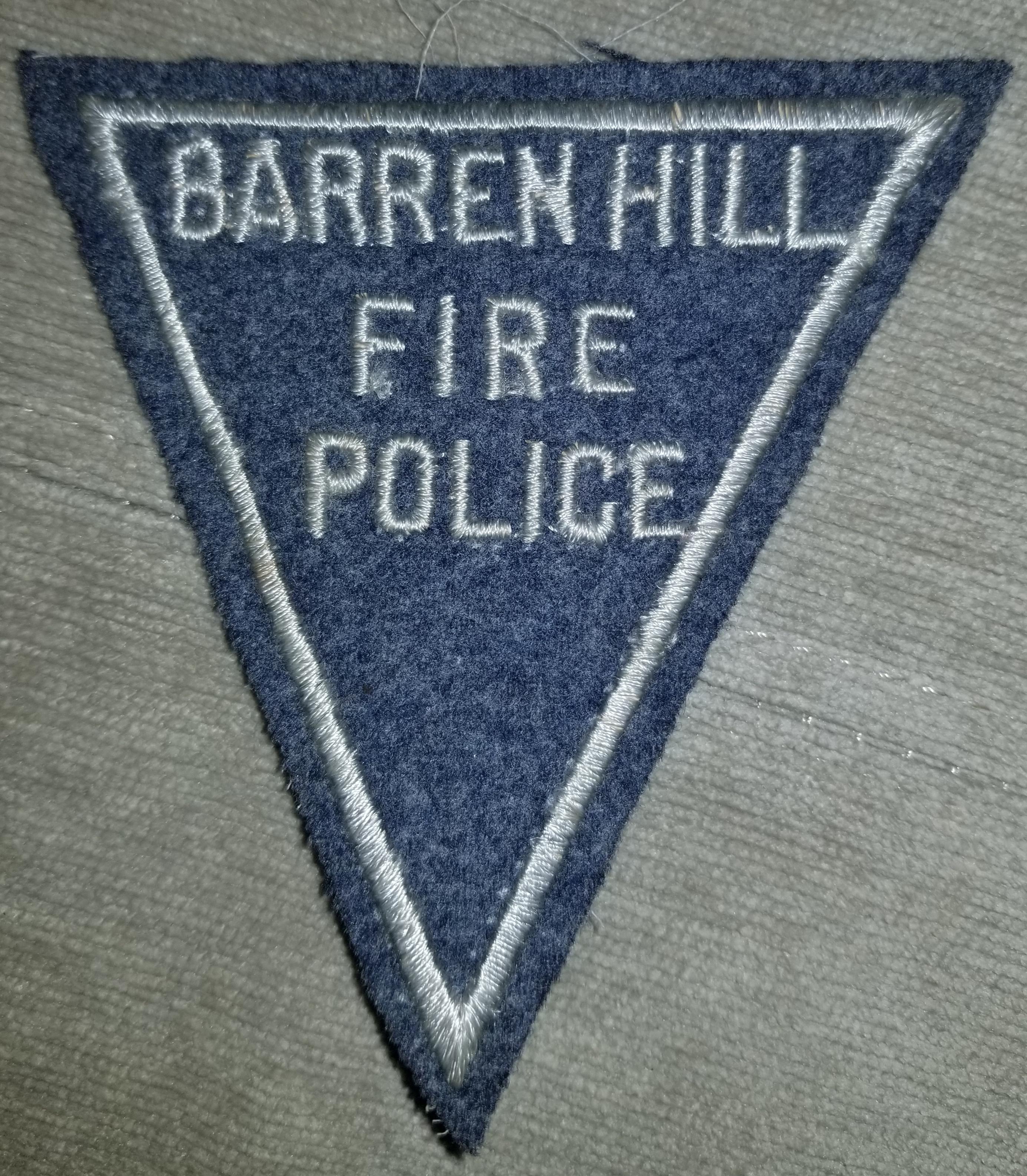 Barren Hill Fire Police PA