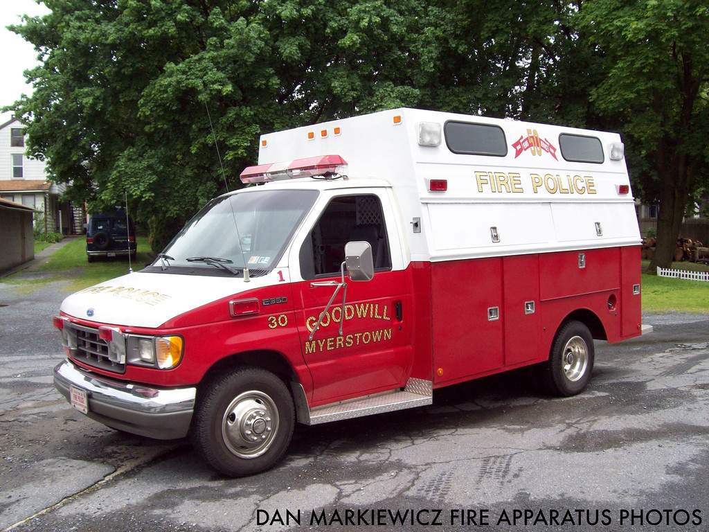 Goodwill Fire Co. Myerstown PA Fire Police Unit 2