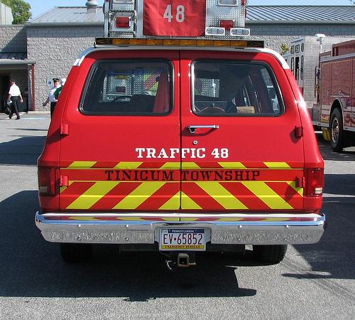 Tinicum Township PA Traffic 48 OLD