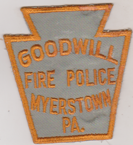 Goodwill Fire Police Myerstown PA 2