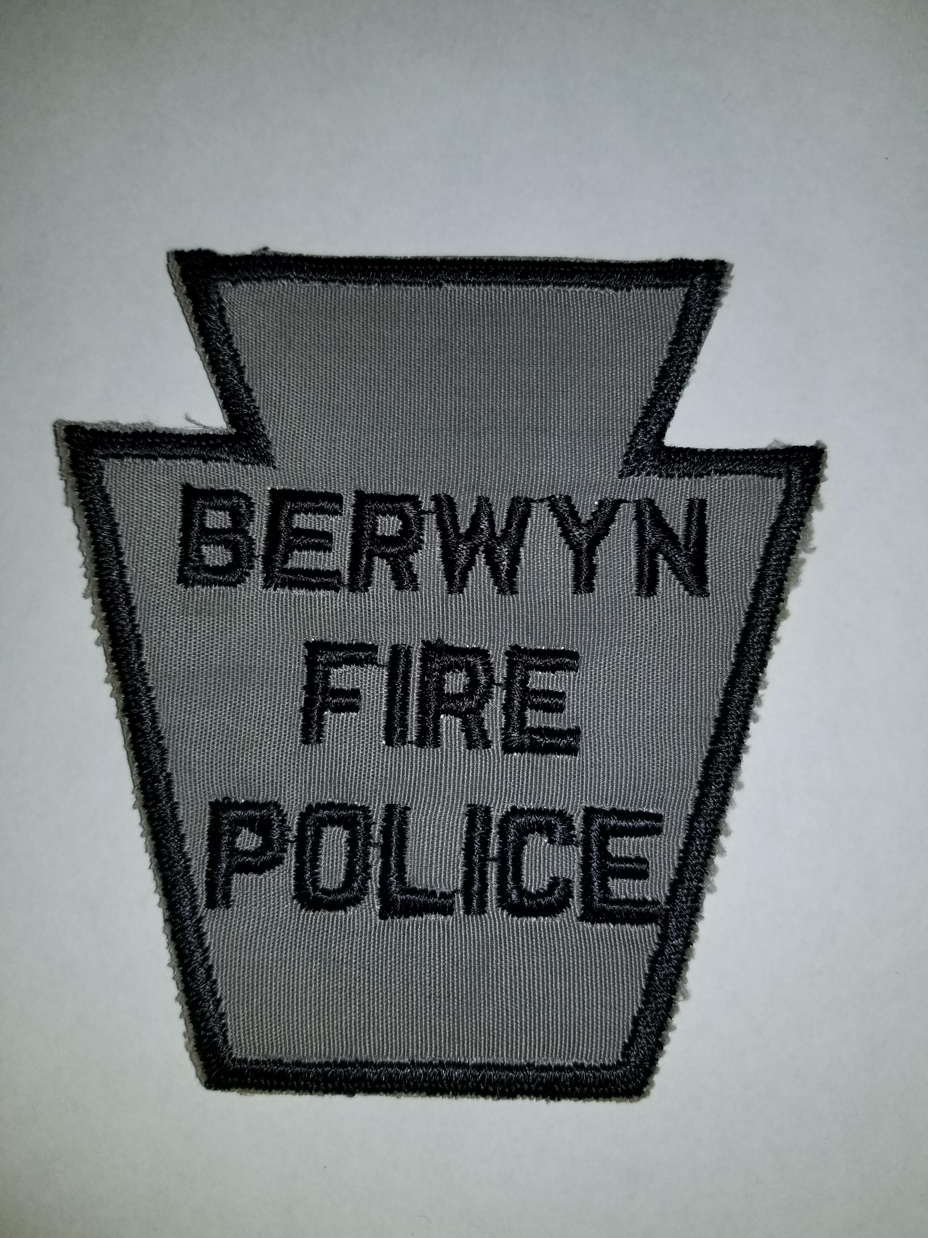 Berwyn PA Fire Police