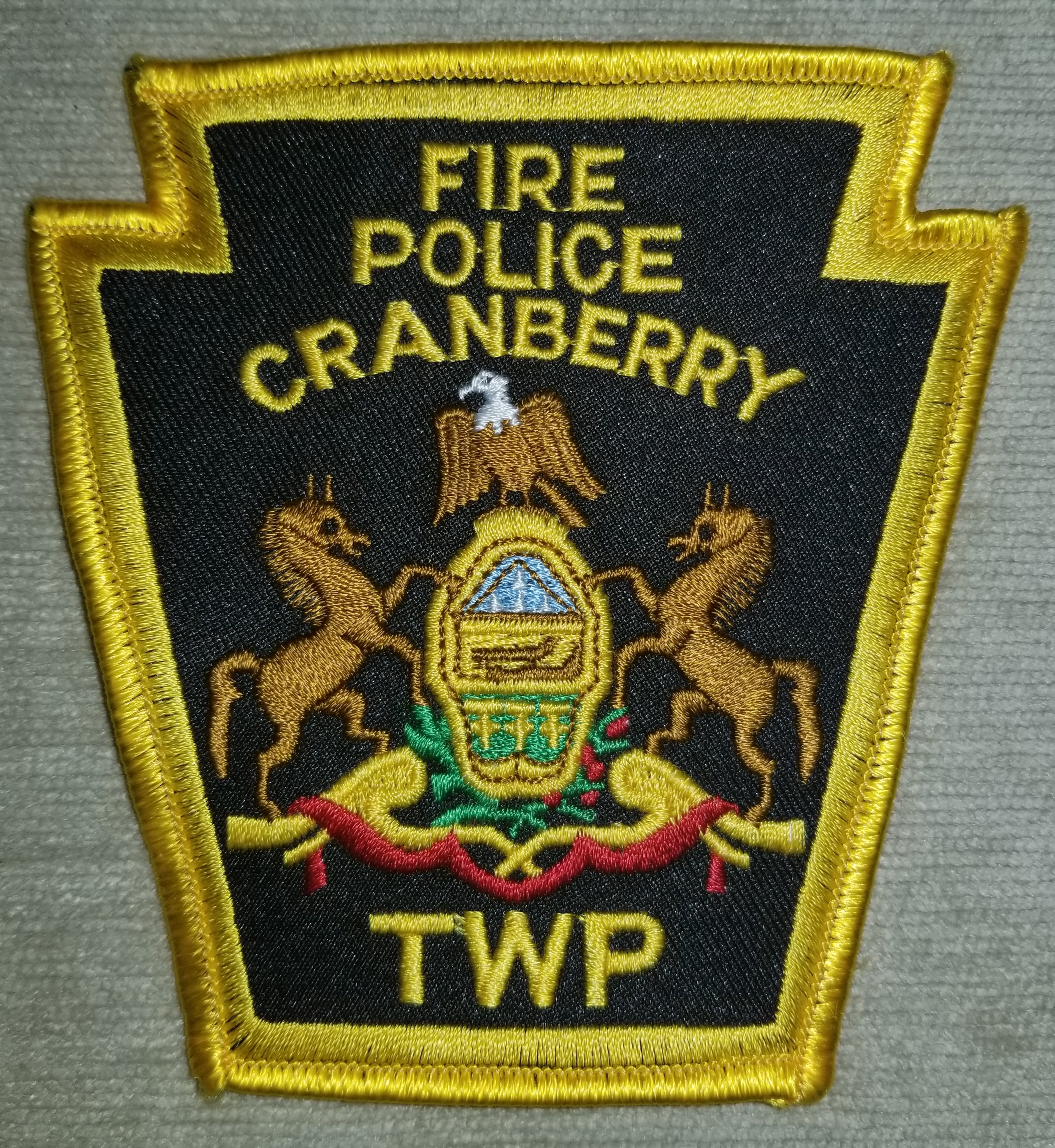 Cranberry Township Fire Police PA