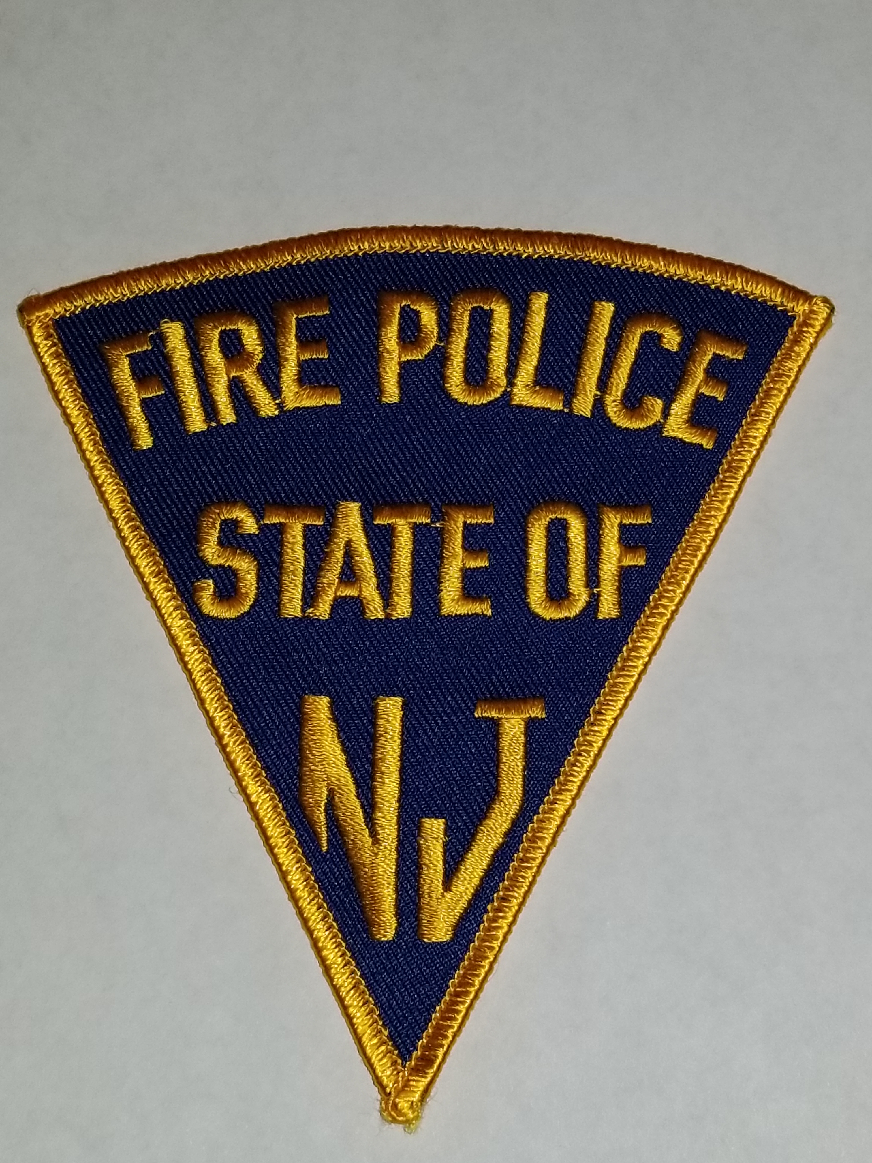 Fire Police State Of NJ