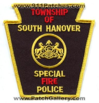 South Hanover Township PA Special Fire Police