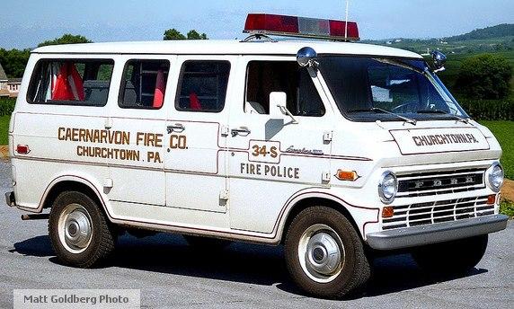 Caernarvon Fire Department PA Fire Police 34S