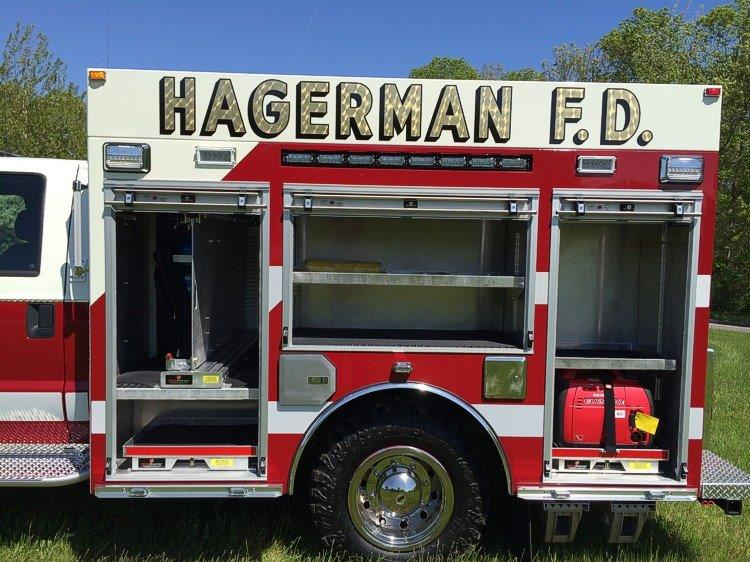 Hagerman FD East Patchogue NY Fire Police Rescue 4