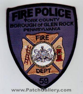 GLEN ROCK BOROUGH PA FIRE POLICE