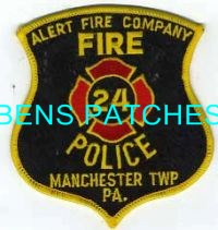 Albert Fire Company Fire Police Manchester Township PA