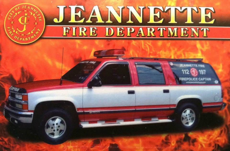 Jeanette Fire Department Fire Police Captain 112-197