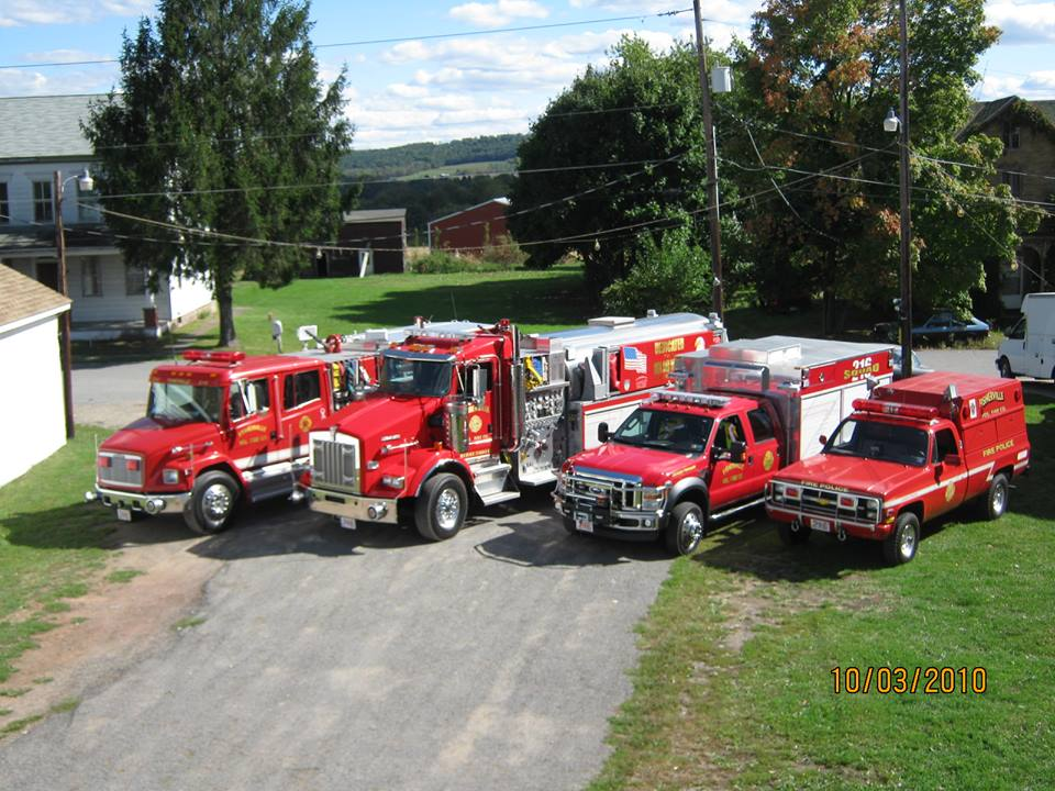 Fisherville Volunteer Fire Company PA old utility Fire Police Unit prior to conversion to brush 1