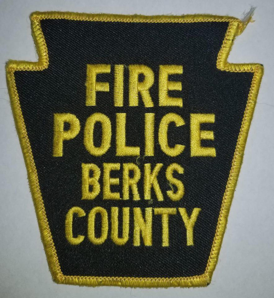 Berks County PA Fire Police 3