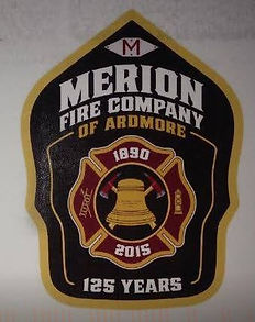 25 - Merion Fire Company Ardmore 125th.J