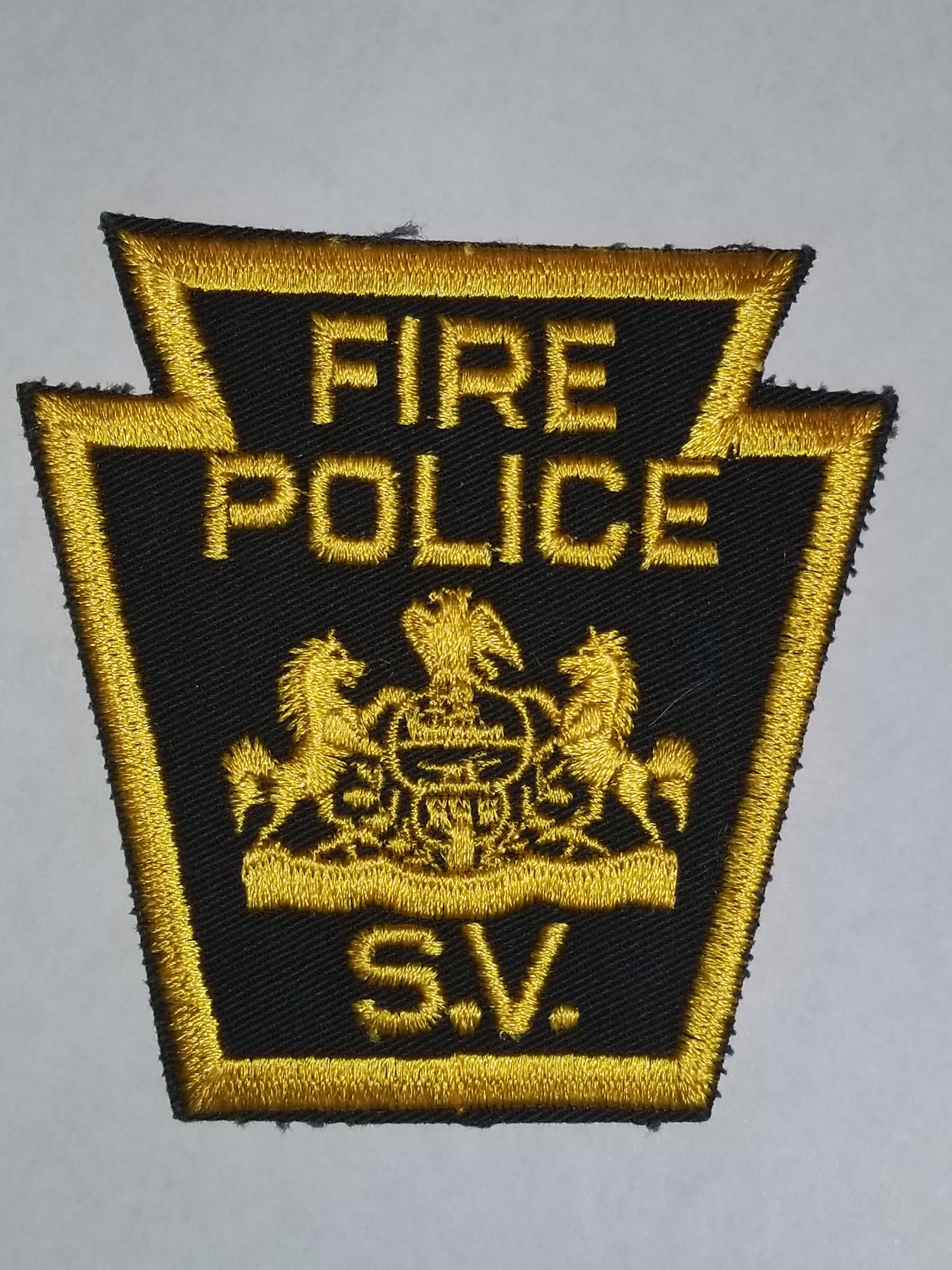 S.V. (Sweet Valley?) PA Fire Police