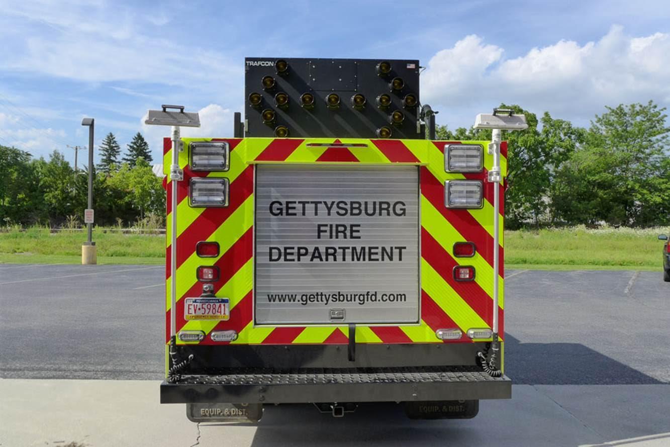 Gettysburg Fire Departement Traffic 1 4