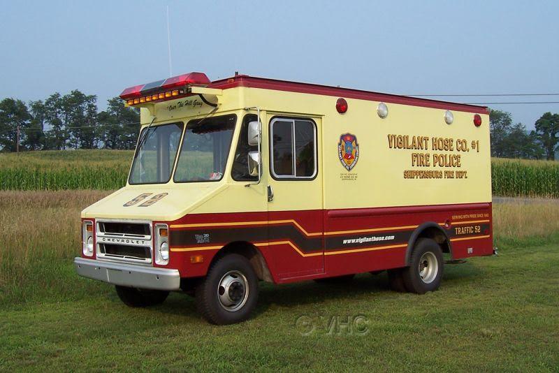 Vigilant Hose Co. No. 1 Shippensburg PA Traffic 52