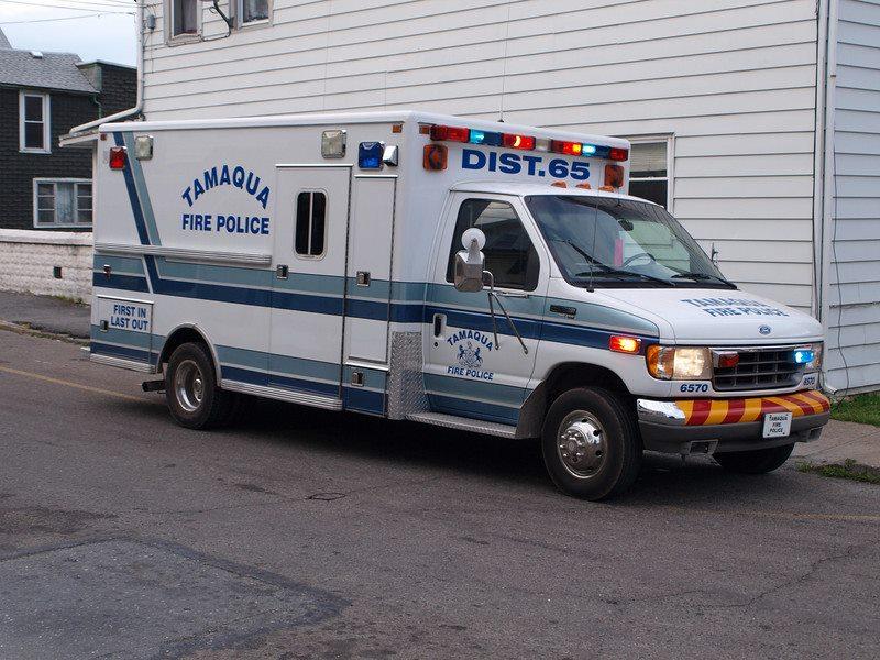 Tamaqua PA Fire Police 6570 2