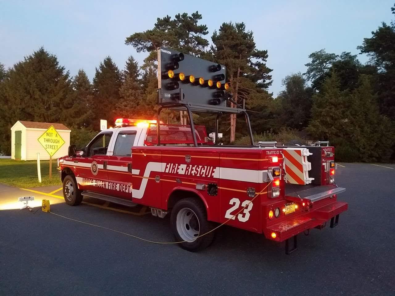 Upper Allen Fire Department Mechanicsburg PA Traffic 23