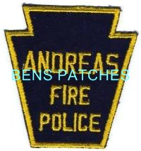 Andreas PA Fire Police