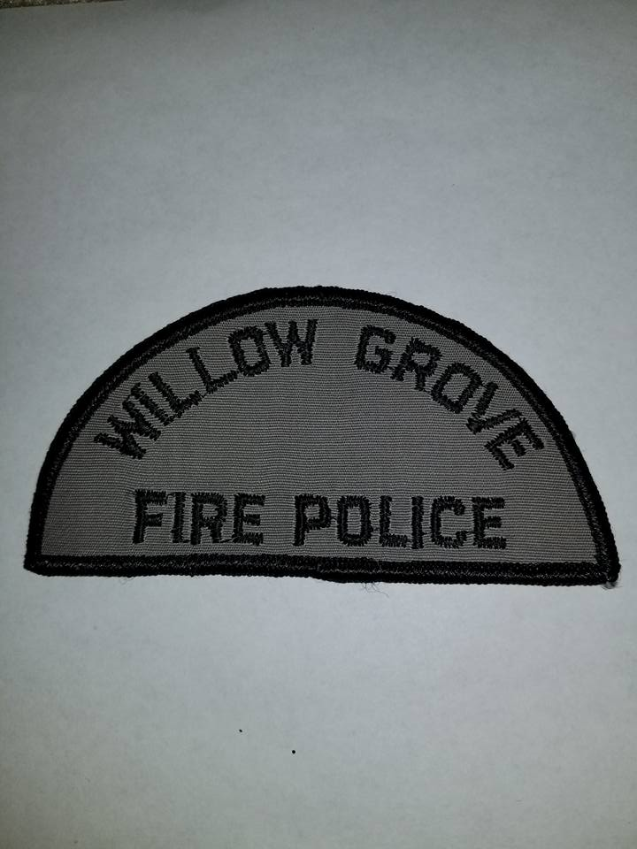 Willow Grove PA Fire Police 1